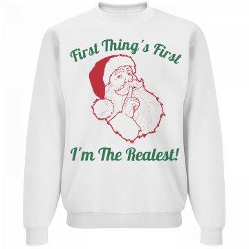 santa's the realest