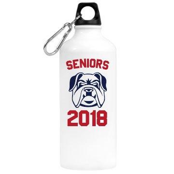 Senior 2017 Water Bottle