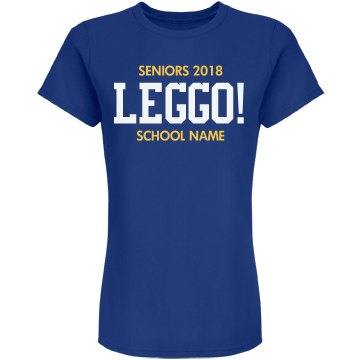 Seniors Leggo Team Colors