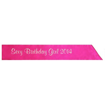 Sexy Birthday Girl 2014