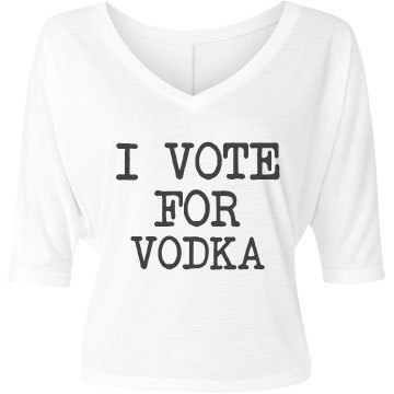 Simple Vote For Vodka