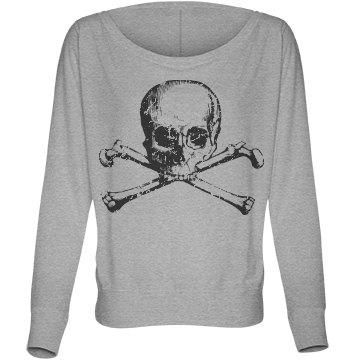 Skull Fashion Distressed