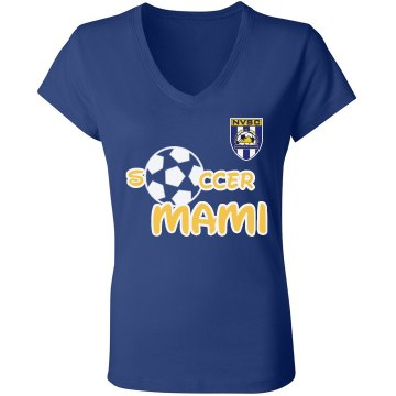 Soccer Mami White