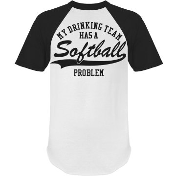 Softball Drinking Shirt