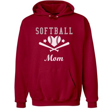 Softball Mom Rhinestone