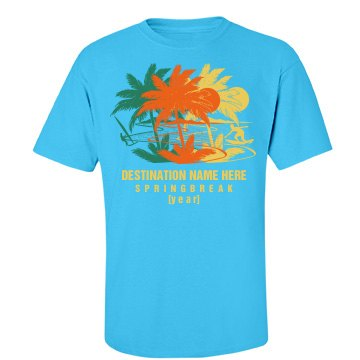 Spring Break Add Year Tee