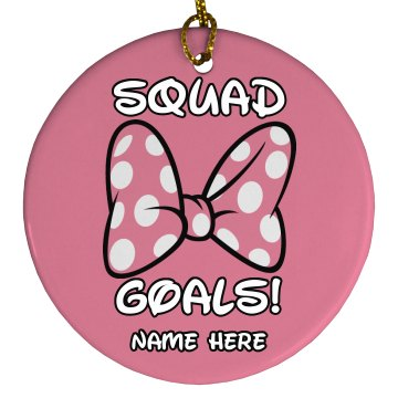 Squad Goals Cheer Gift