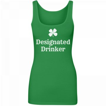 St. Patrick Irish Drinker