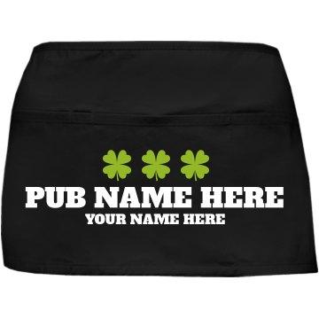 St. Patrick's Day Waiter