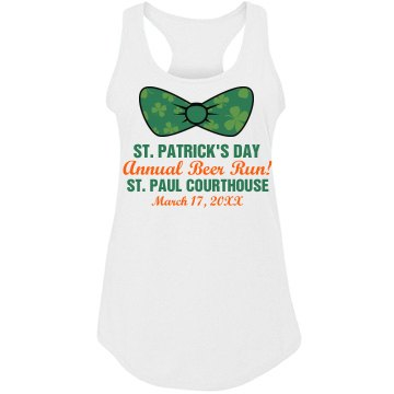St. Patrick's Race Tank