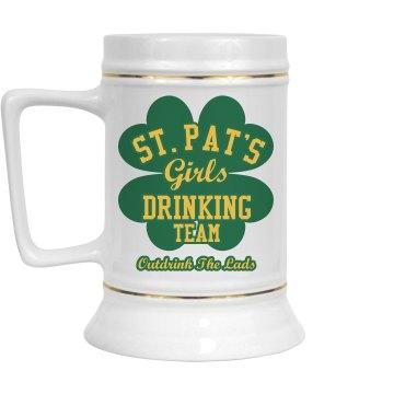 St. Patty Lassie Team