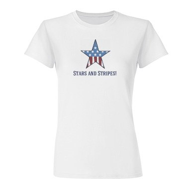 Stars And Stripes Tee