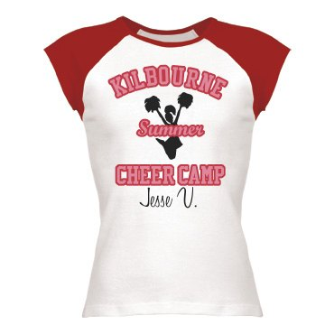 Summer Cheer Camp Tee