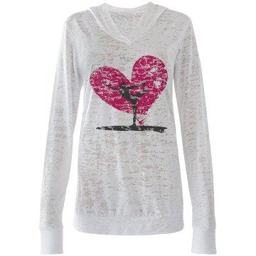 #SUP yoga love hoodie