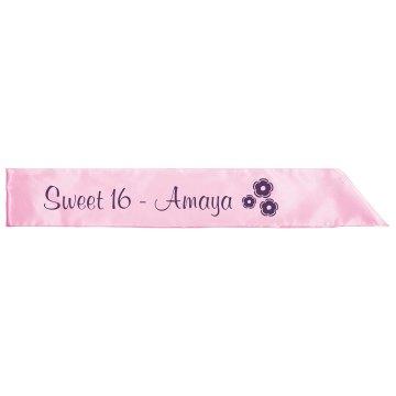 Sweet 16 Sash