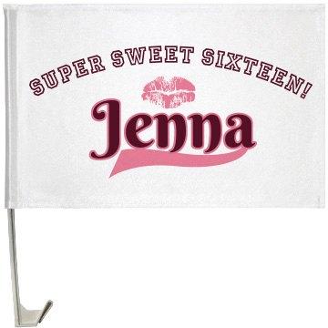 Sweet Sixteen Flag