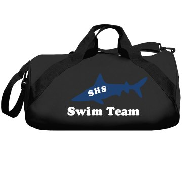 Swim Team Shark Mascot