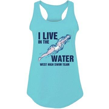 Swim Team Water Tank