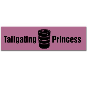 Tailgating Princess