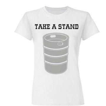Take A Keg Stand