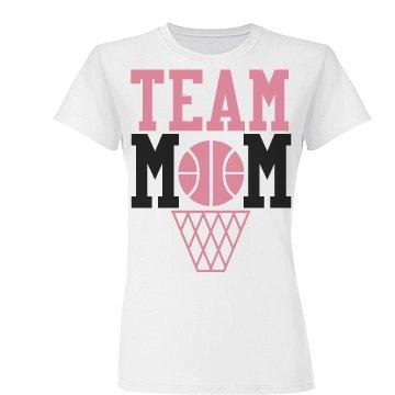 Team Basketball Mom