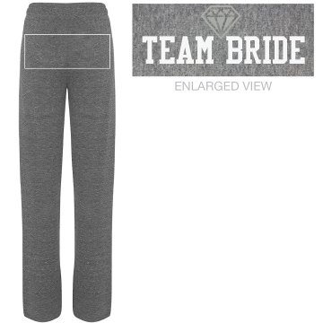 Team Bride Lounge Pants