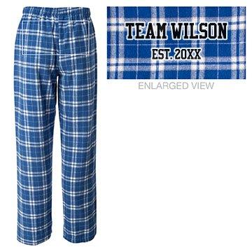 Team Family Pajamas