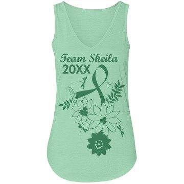 Team Sheila Charity Walk