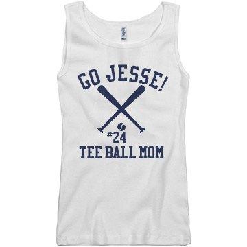 Tee Ball Mom