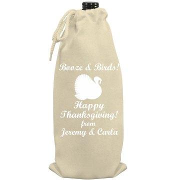 Thanksgiving Hostess Wine