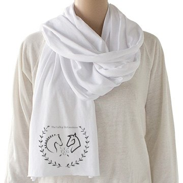 The Gallop To Greatness Logo Scarf