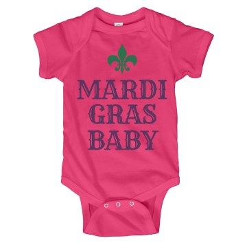 The Mardi Gras Baby