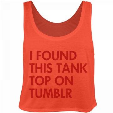 The Meta Tank Top