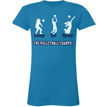 THS Volleyball Tee