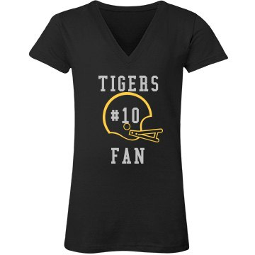 Tigers Fan Rhinestones