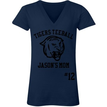 Tigers Teeball Mom