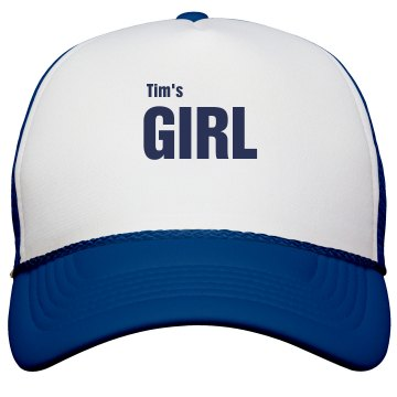 Tim's Girl Trucker Hat