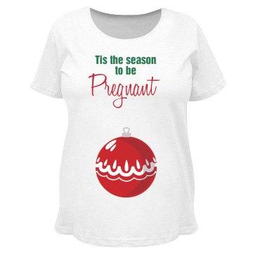 Tis The Season Pregnant