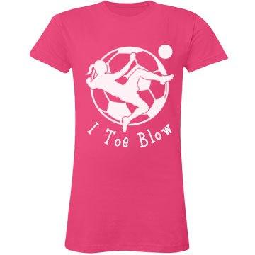 Toe Blow Soccer Tee