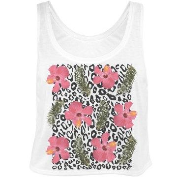 Tropical Leopard Pattern