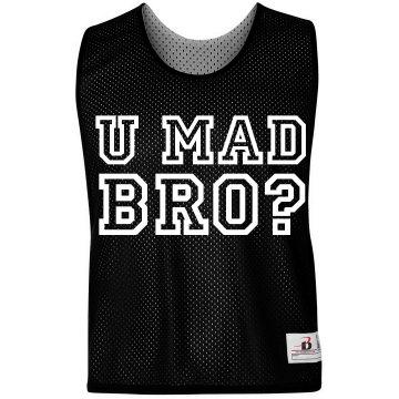 U Mad Bro LAX Pinnie