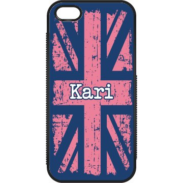 UK Pink iPhone Case