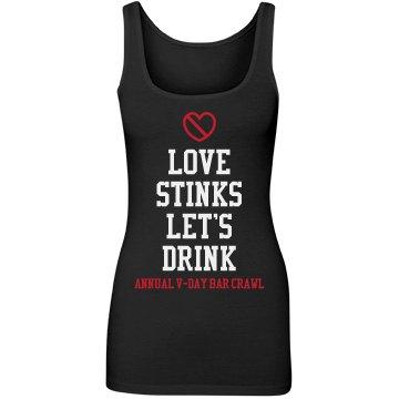 Valentines Bar Crawl