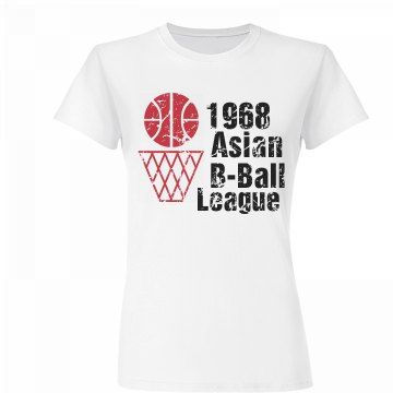 Vintage Asian Basketball