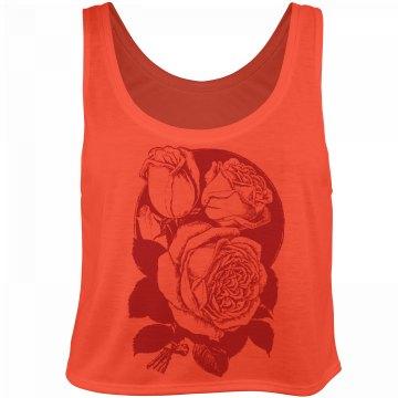 Vintage Roses Top