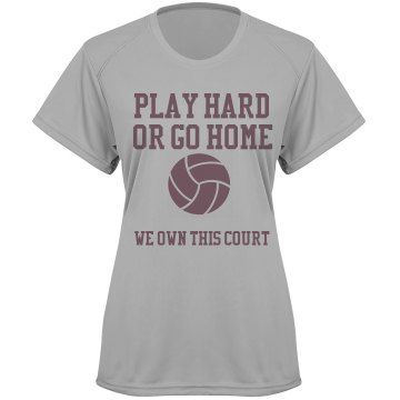 Volleyball Dry Fit Tee