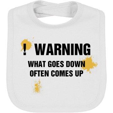 Warning Bib
