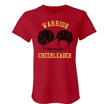 Warrior Cheer w/Back