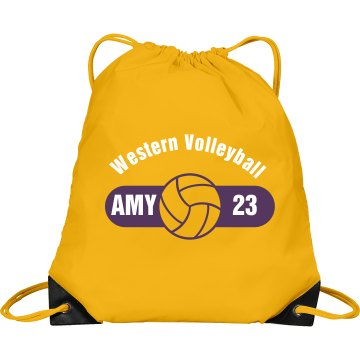 Western Volleyball Bag