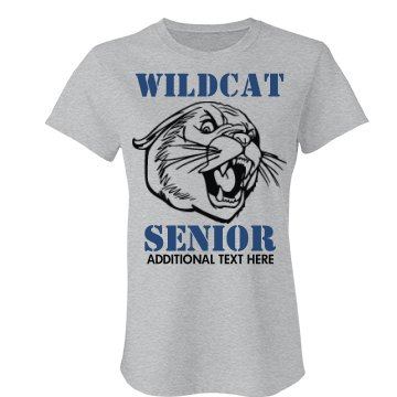 Wildcat Senior Mascot
